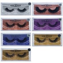 Romantic Bear Thick Natural Long Mink 3D Hair False Eyelash Hand Made 15 styles available 48sets/lot DHL Free