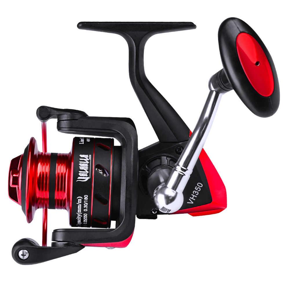 Nuevo Metal girar carrete de pesca rueda abordar Durable rodamiento accesorios partes XD88