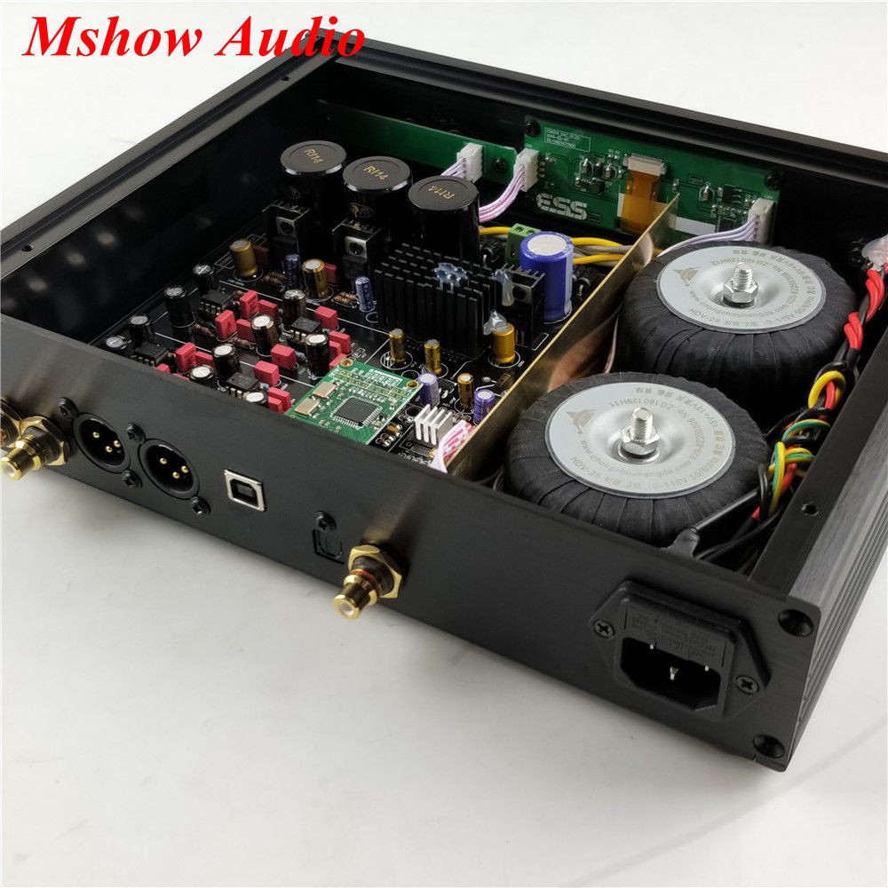 Image 2 - ES9038 ES9038PRO DAC DSD Decoder HIFI Audio + AD797 MUSES8920 + Amanero USB-in Amplifier from Consumer Electronics