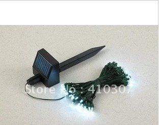 outdoor solar string fairy lights waterproof garden 60 led