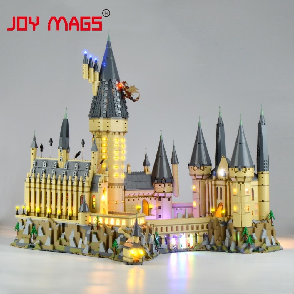 Alegría MAGS luz Led Kit de Harry Potter Hogwarts Castillo conjunto de luz Compatible con 71043
