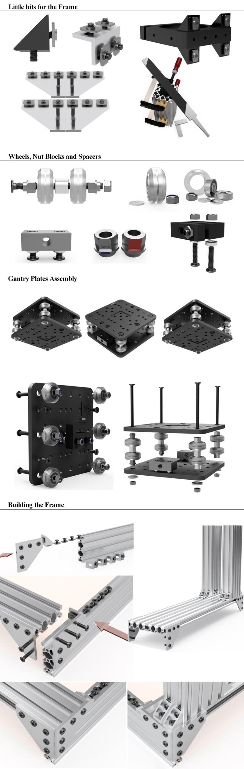 OpenBuilds C-Beam Machine kit