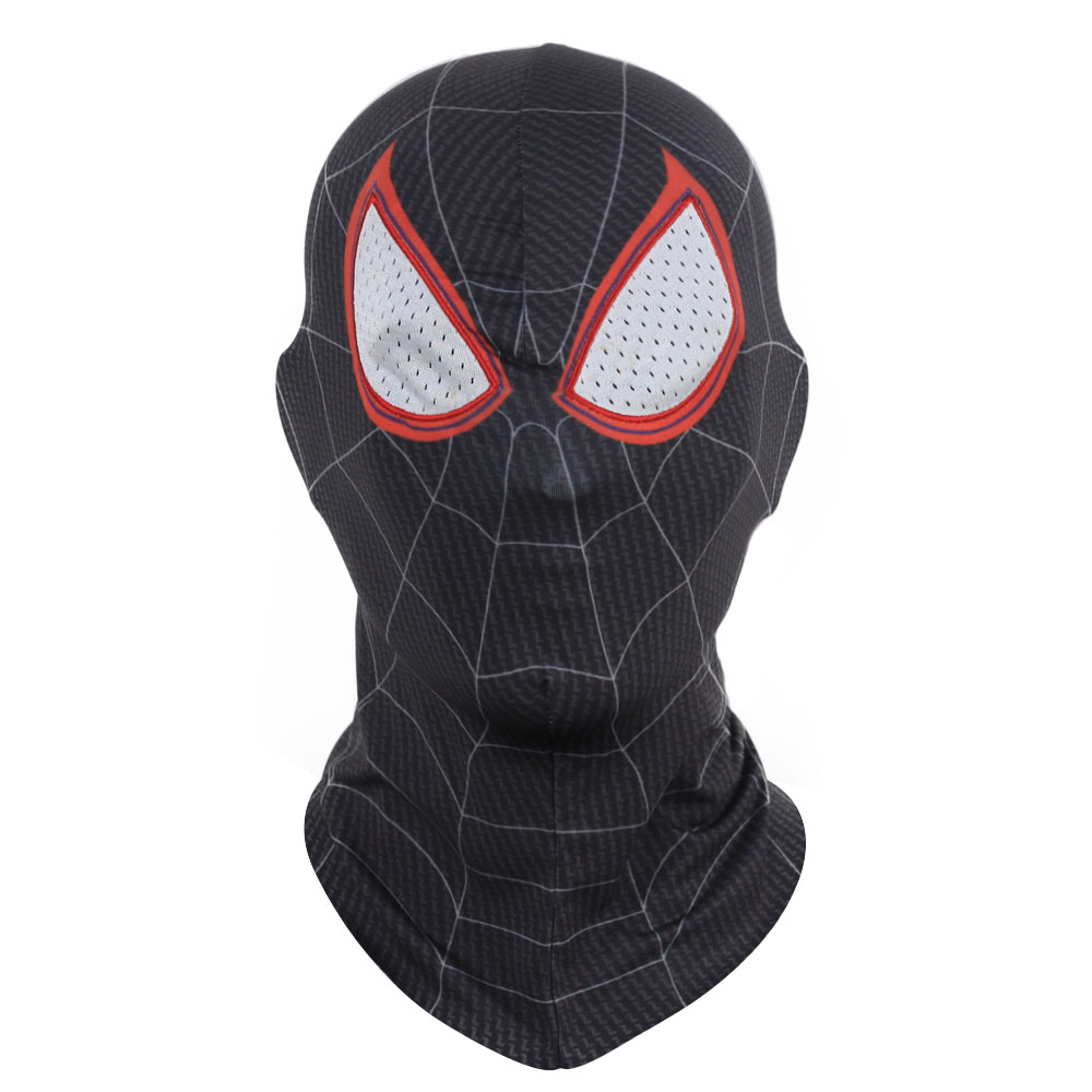 Spider Man Into the Spider Verse Mask Cosplay Gwen Stacy Peter Parker Miles Morales Masks Superhero Spiderman Helmet Party Prop in Boys Costume Accessories from Novelty Special Use