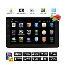 """Latest Double 2 Din 7"""" HD Android 4.2 In Dash GPS Navigation Car PC Tablet Car Audio Radio Stereo No DVD Player Bluetooth iPod"""
