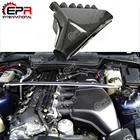 For BMW(92-99) E36 M3 3 Series 2Dr Coupe Convertible 4Dr Sedan Carbon Fiber Cold Air Intake Box Engine Vent Duct Body Kit