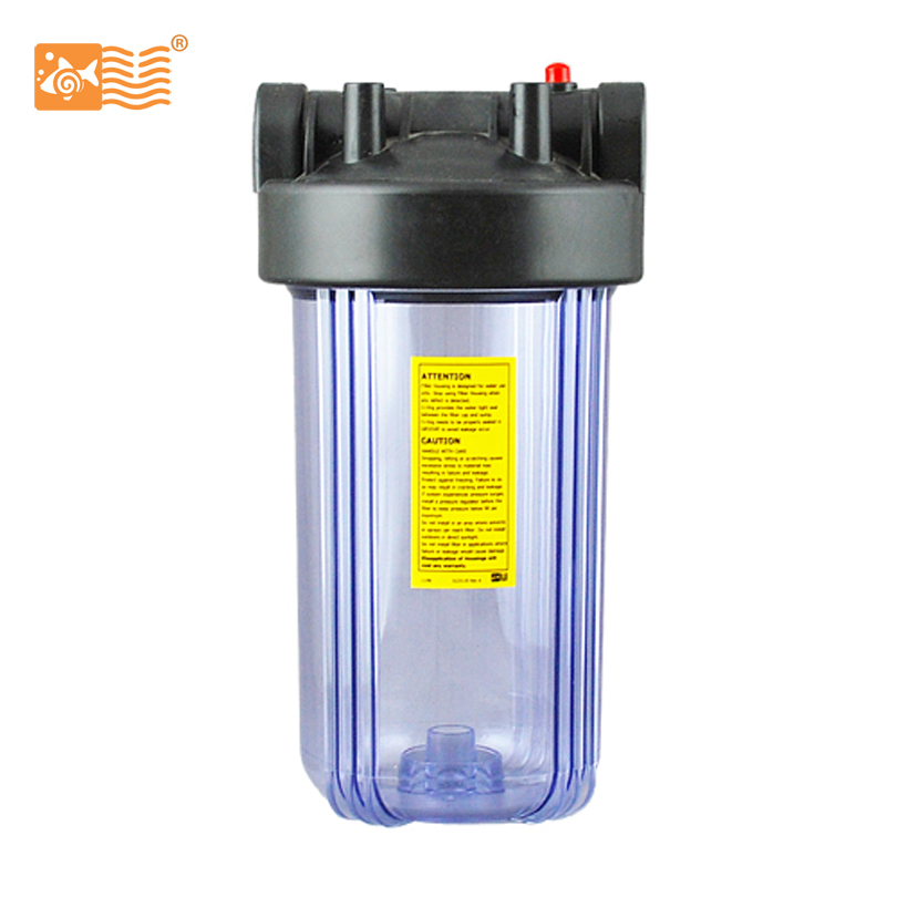 Big Clear 10 Water Filter Housing  for Water Purifier On Sale manual control valve f56d for water filter on sale