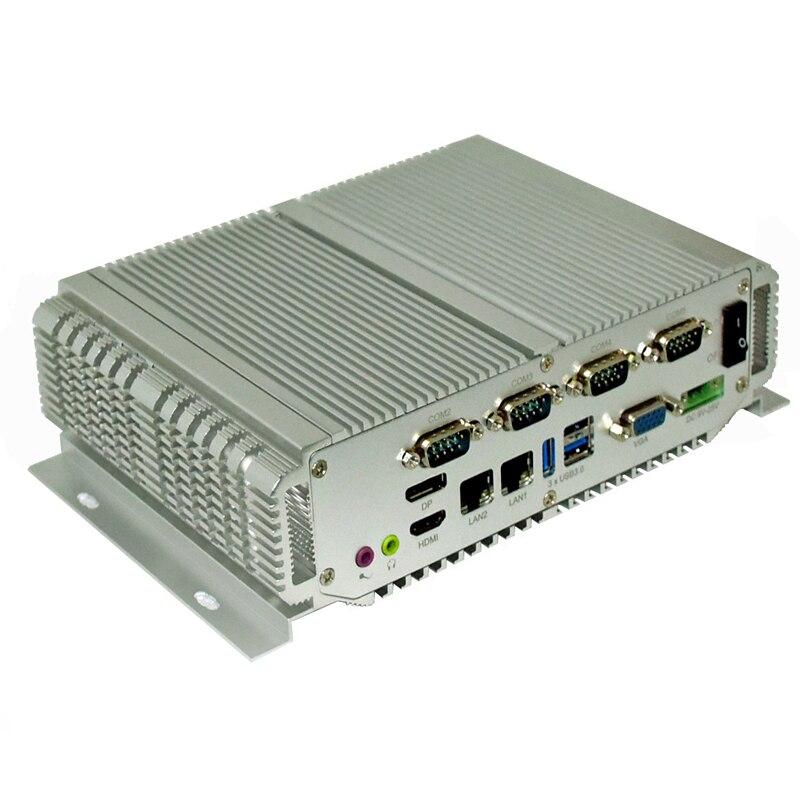 Embedded Mini Pc Intel Core I5 3337U Processor Fanless Industrial Pc With 4Gb Ram 3xUSB3.0 1xVGA 1xHDMI Industrial Computer