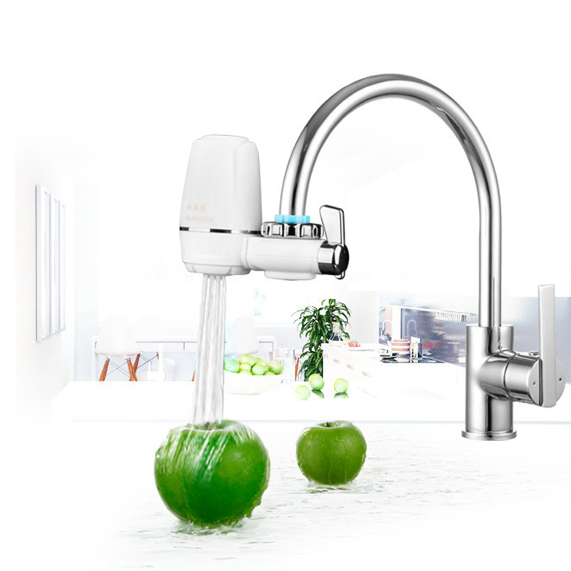 Hot Sale Water Filter for Household Kitchen Health Ceramic Activated Carbon Tap Faucet Water Filter Purifier Filtros WF003 in Water Filters from Home Appliances