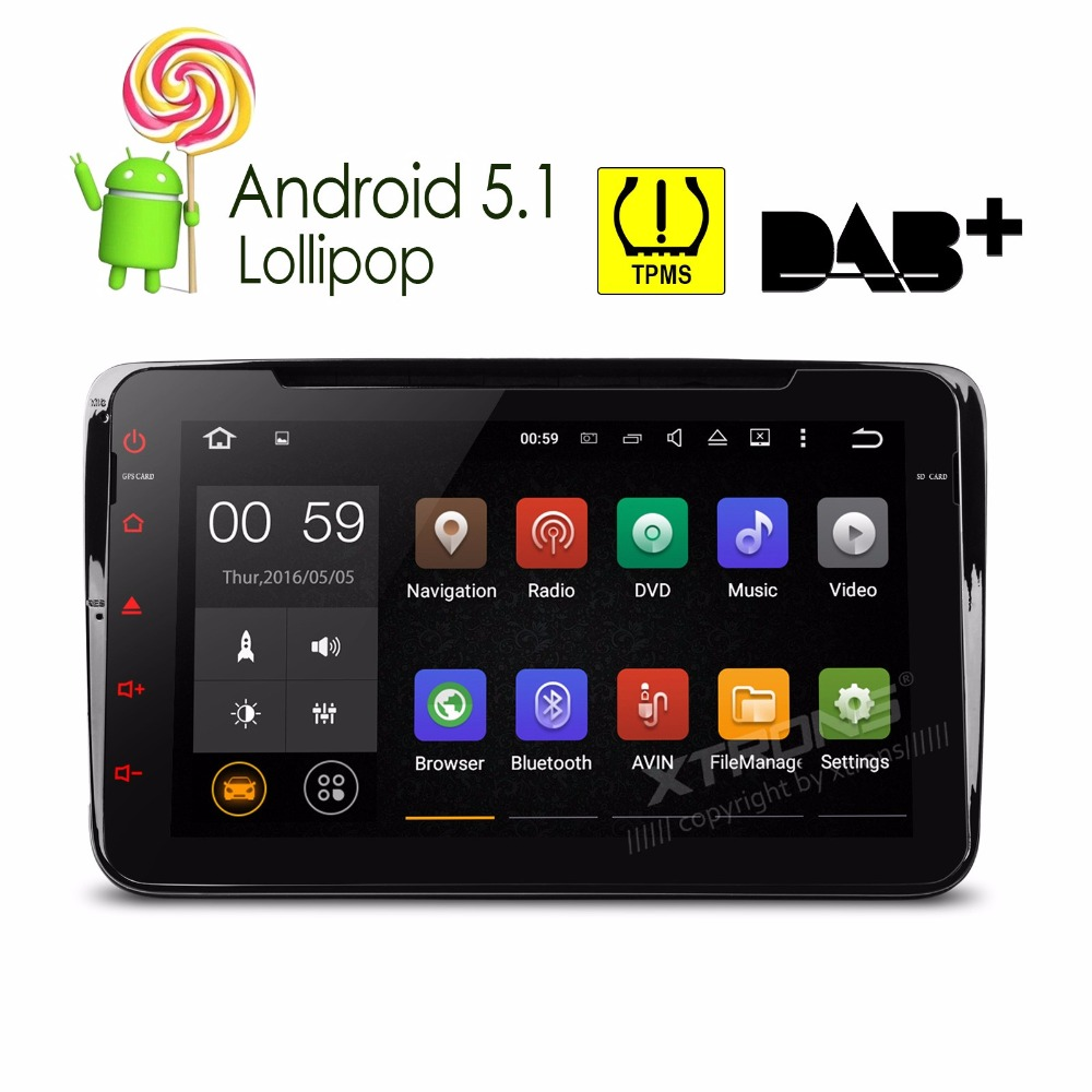8 Android 5.1 OS Special Car DVD for Skoda Yeti 2009-2015 & Superb 2008-2013 & Patrick 2004-2008 & Roomster 2006-2010