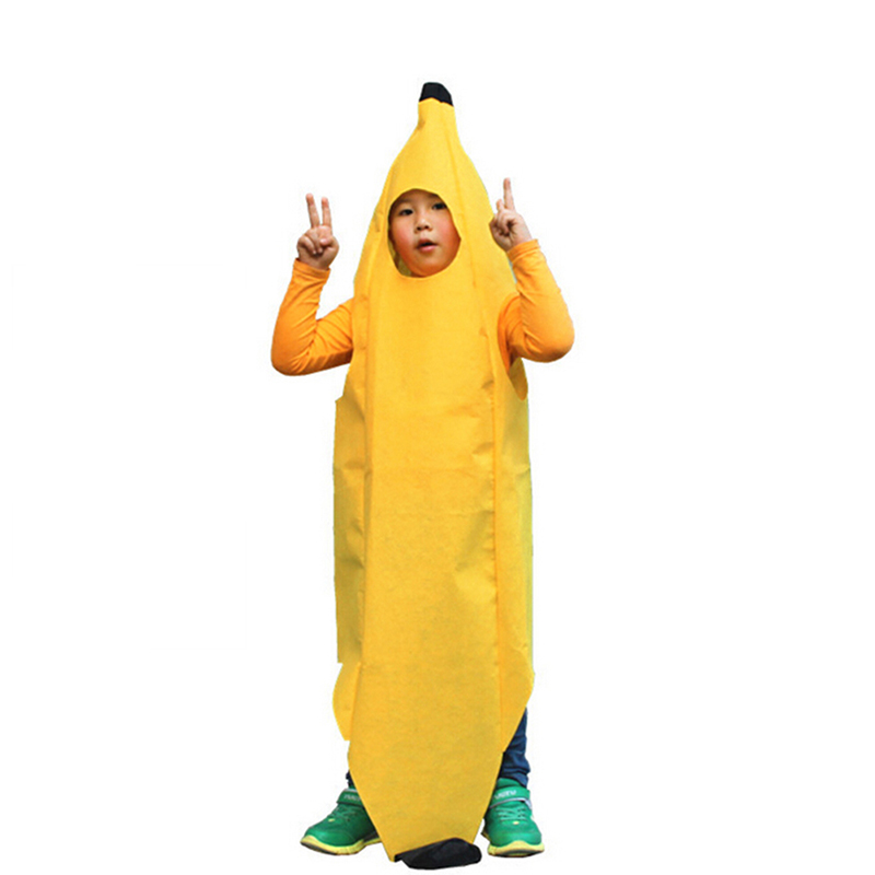 adult banana costume fun body suit unisex outfit fancy dress halloween festival supplies one size fits - Banana Costume Halloween