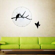 Horloge Murale Arbre Oiseau Achetez Des Lots A Petit Prix Horloge