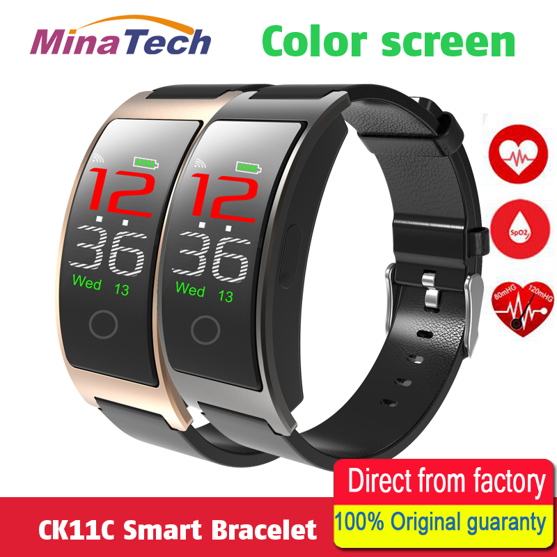 Smart Band CK11C Smart Bracelet 0.96 IPS Color Screen Blood Pressure Heart Rate Support Ios Android PK Miband 2 S2 Ck11s
