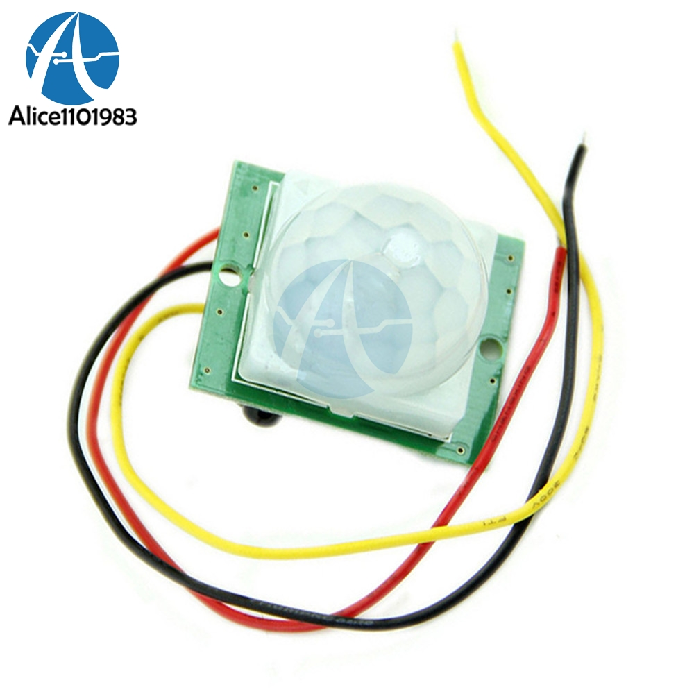 High Efficiency Dc 12v 5ma Tdl-718a Pir Ir Infrared Pyroelectric Ir Pir Motion Sensor Board Detector Module Let Our Commodities Go To The World Active Components