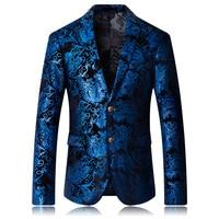 2019 Design Men sequins Suit Jackets Glittering paillette Blazers Coat Nightclub Singer Vocal Concert Stage Costume Host Show