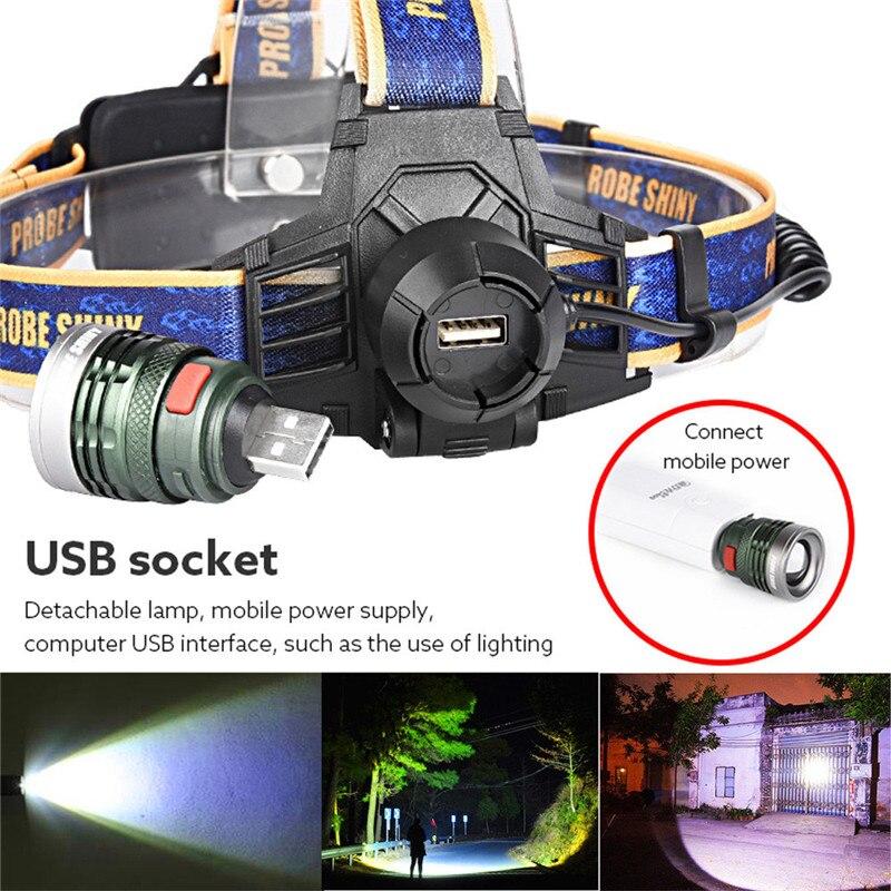 B2 Bicycle Light 10000Lm XM-L T6 LED Headlamp Headlight Flashlight Head Light Lamp Camping & Hiking Hunting