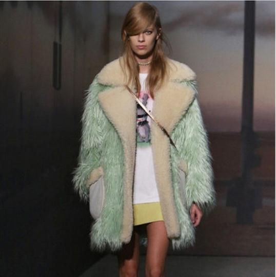 Popular Green Fur Coats-Buy Cheap Green Fur Coats lots from China