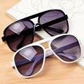 64 mm grande quadro Oversized rodada homens mulheres óculos de sol masculinos Retro preto óculos óculos de sol óculos homens mulheres