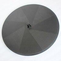 Catazer 700C 23mm Wide Riathlon Time Trail Tubular Or Clincher Carbon Disc Wheel