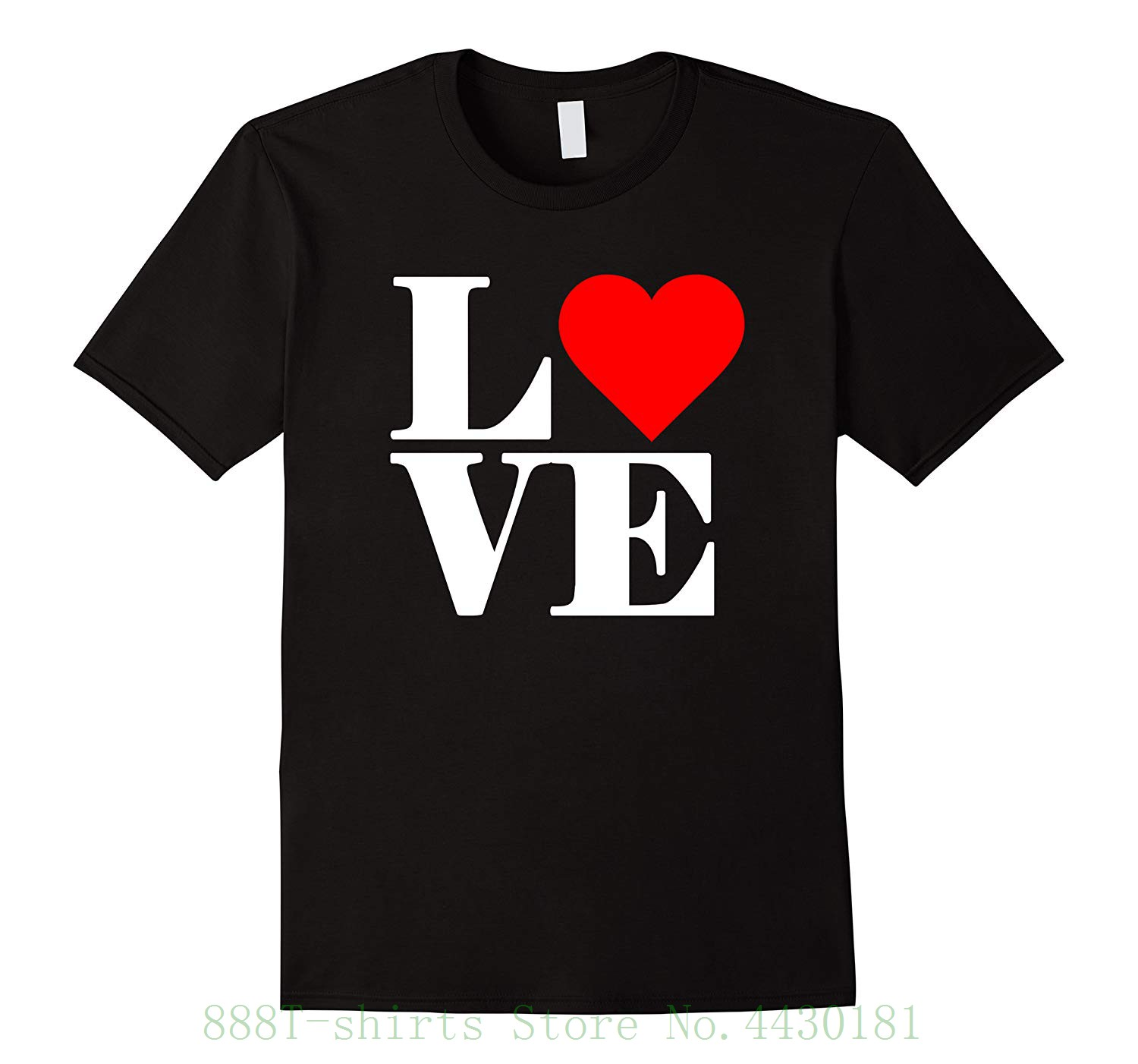Women's Tee Love Heart Valentines Day T Shirt Female Perfect Quality Casual Clothes For Women