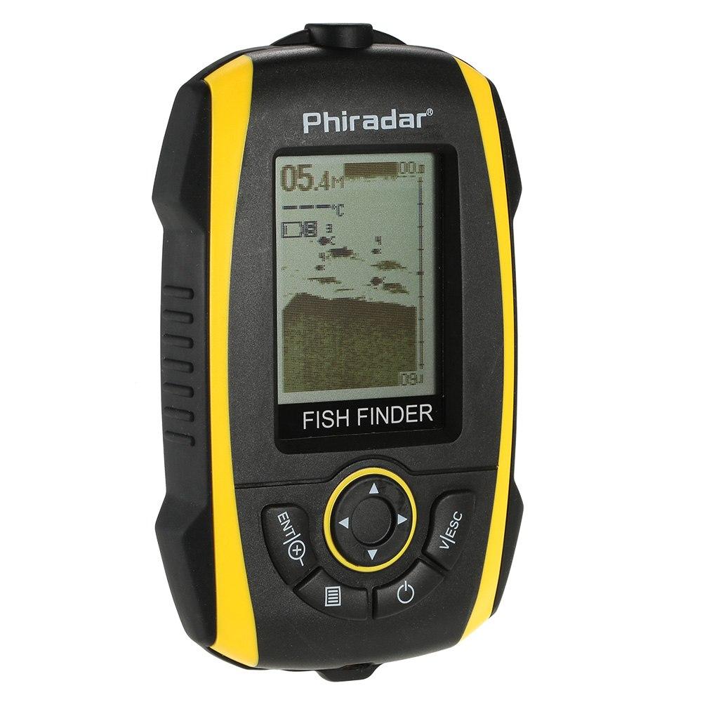 sonar transdutor fishfinder indicador de profundidade de