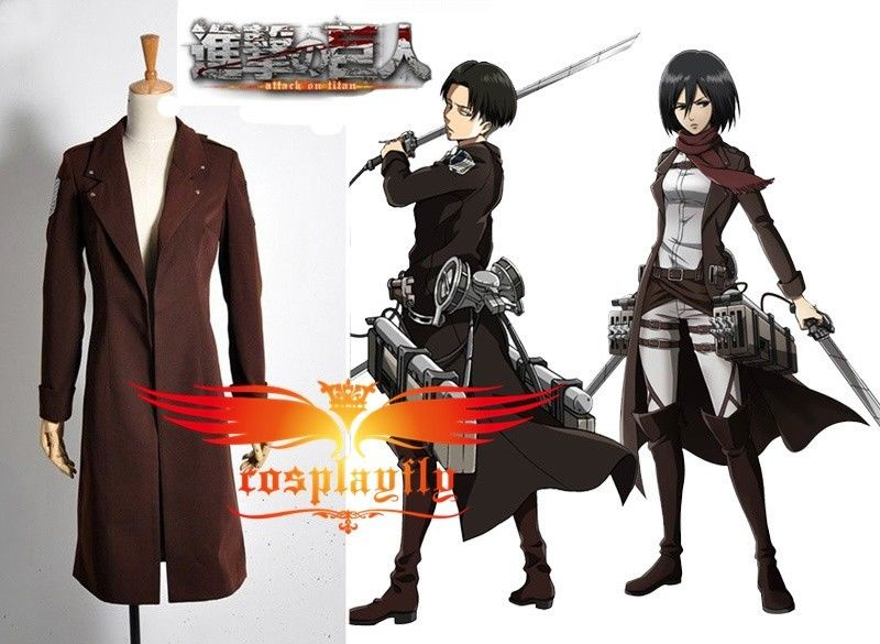Hot Attack on Titan The Recon Corp Eren Jager Windbreaker wind coat Cosplay Costume Custom Made For Adult (W0362)