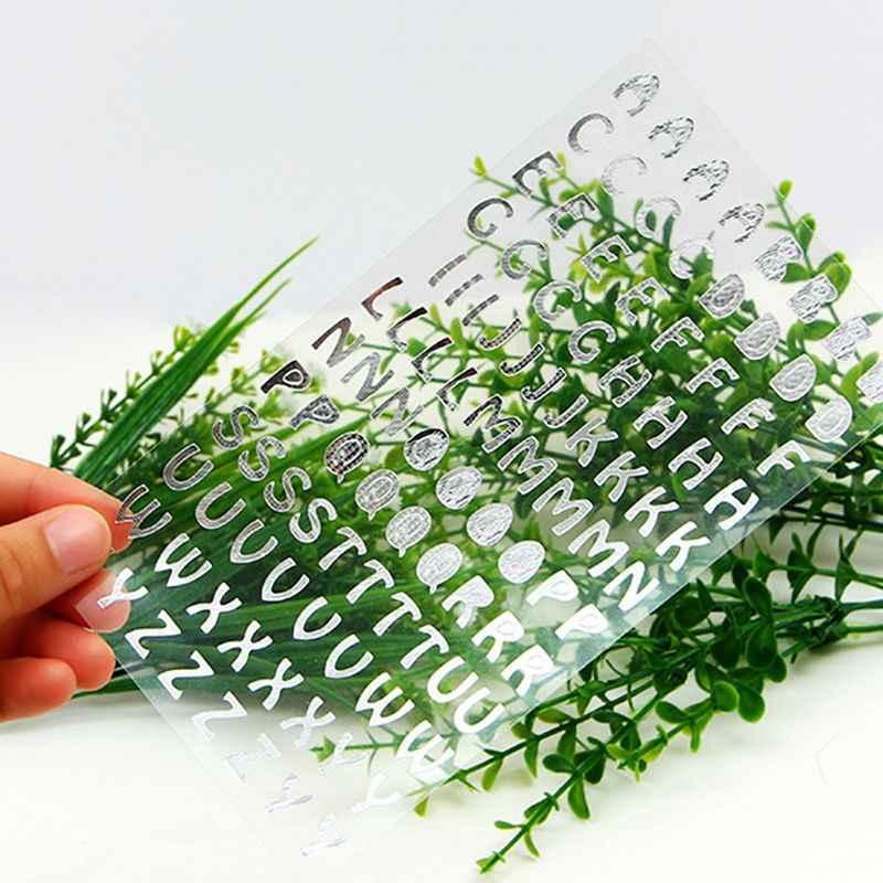 Наклейки цифровые буквы бирки с размерами наклейки своими руками для альбома украшение для ноутбука Бумага Ремесло Скрапбукинг