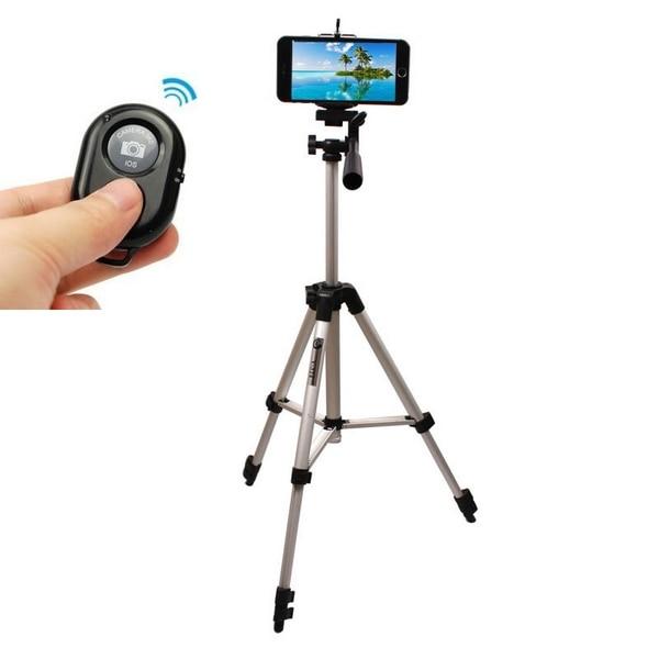 brand new 0420d 2133e US $20.99 |Super Aluminium Camera Stand Tripod Holder+Remote Control For  Iphone 6 4.7
