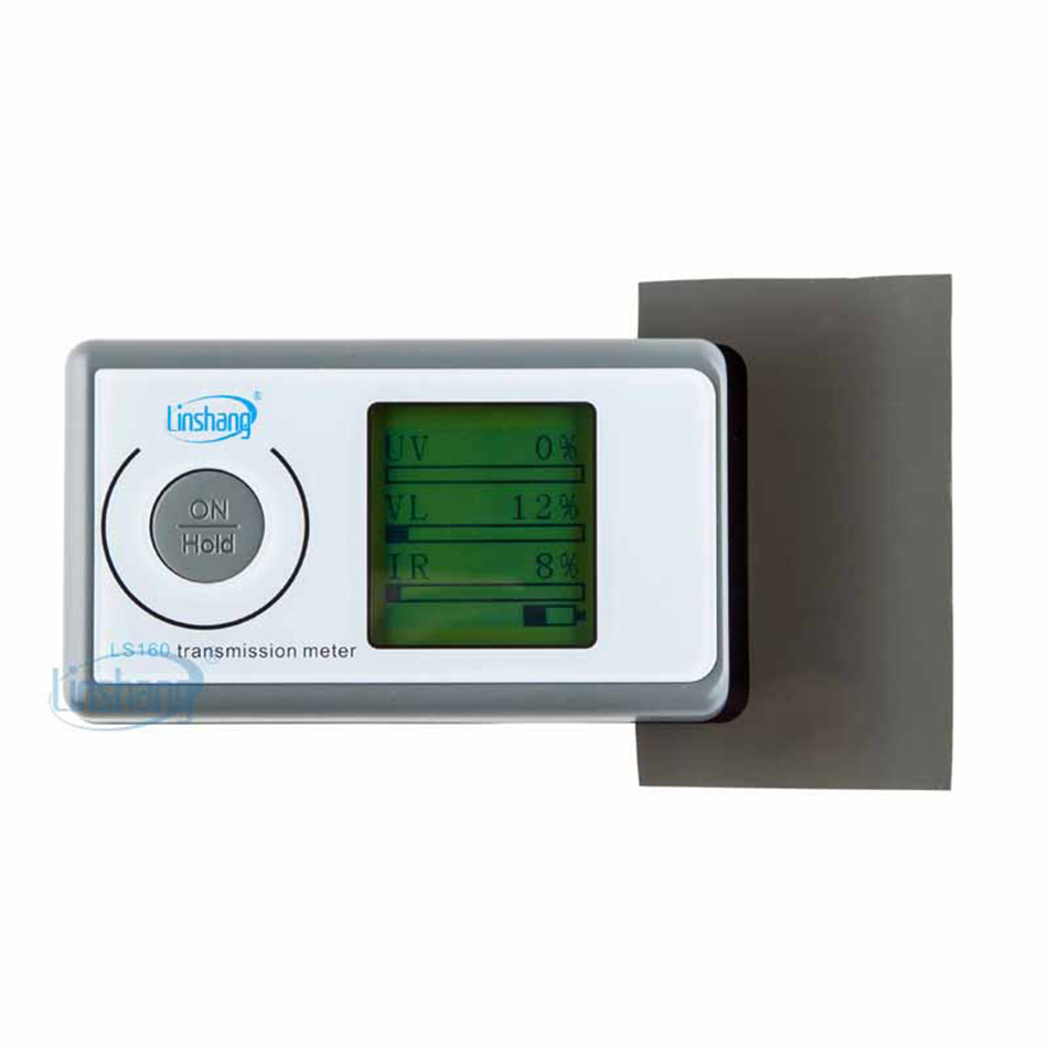 LS160 Solar Film Transmission Meter Portable Solar Film Tester Measure UV Visible Infrared Transmission ValuesLS160 Solar Film Transmission Meter Portable Solar Film Tester Measure UV Visible Infrared Transmission Values