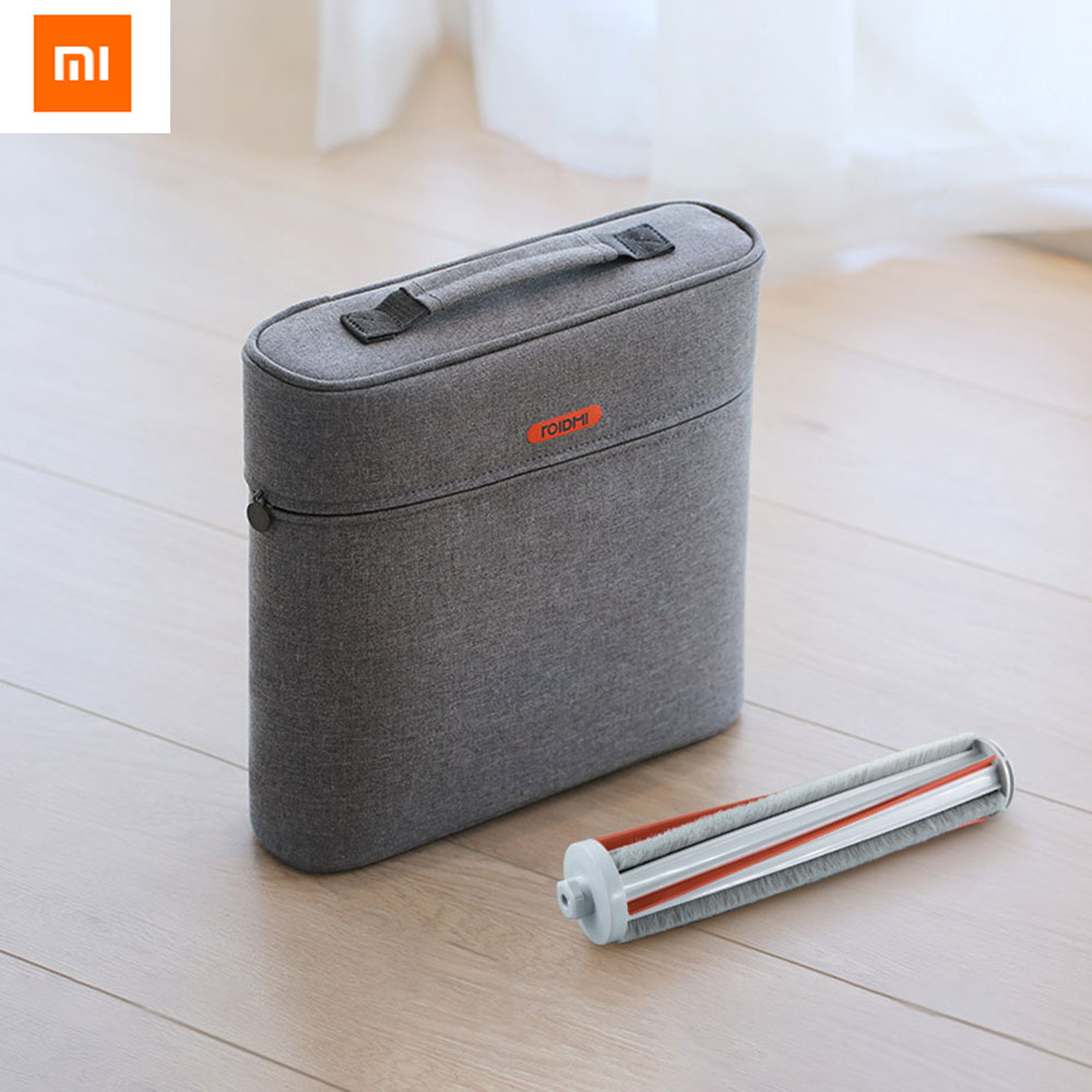 NEW Xiaomi ROIDMI Accessory Storage Bag For ROIDMI Handheld Wireless Vacuum Cleaner F8 Accessories Storage Waterproof Dustproof фильтр xiaomi hepa для roidmi f8