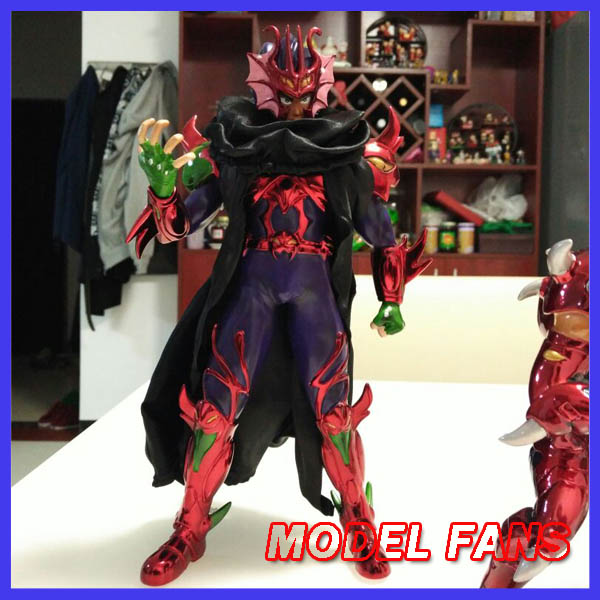 MODEL FANS Jacksdo Saint Seiya Myth Cloth 27cm Hydra/Hydre Docrates Brother of Cassios gk resin made Figure toy for Collection classic jacksdo sacred lands wicked chief of staff evil armies silver saint seiya cloth myth collectable