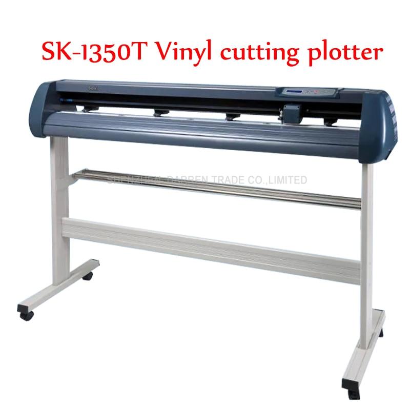 SK 1350T Vinyl cutting plotter paper plotter Usb vinyl cutter plotter Software/English manual 220/110V