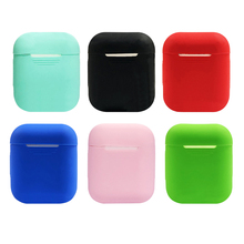 Get more info on the Silicone bluetooth wireless earphone case protector full protective ultra thin shockproof cover for Apple AirPods charging box