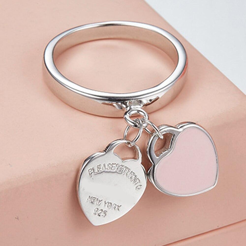 New Original 100% 925 Sterling Silver Elegant Sincerity Twist Ring ...