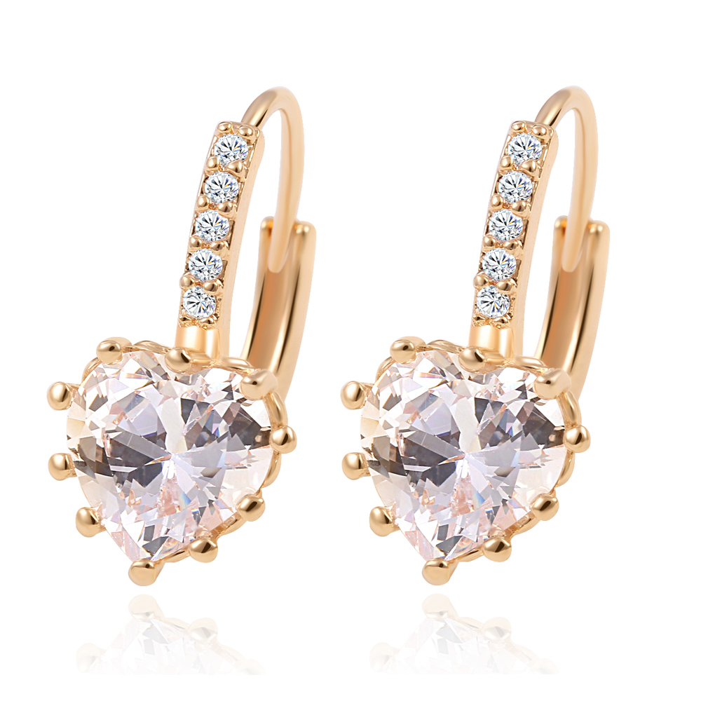 gold dana products earrings collection jewelry simple stud collections seng
