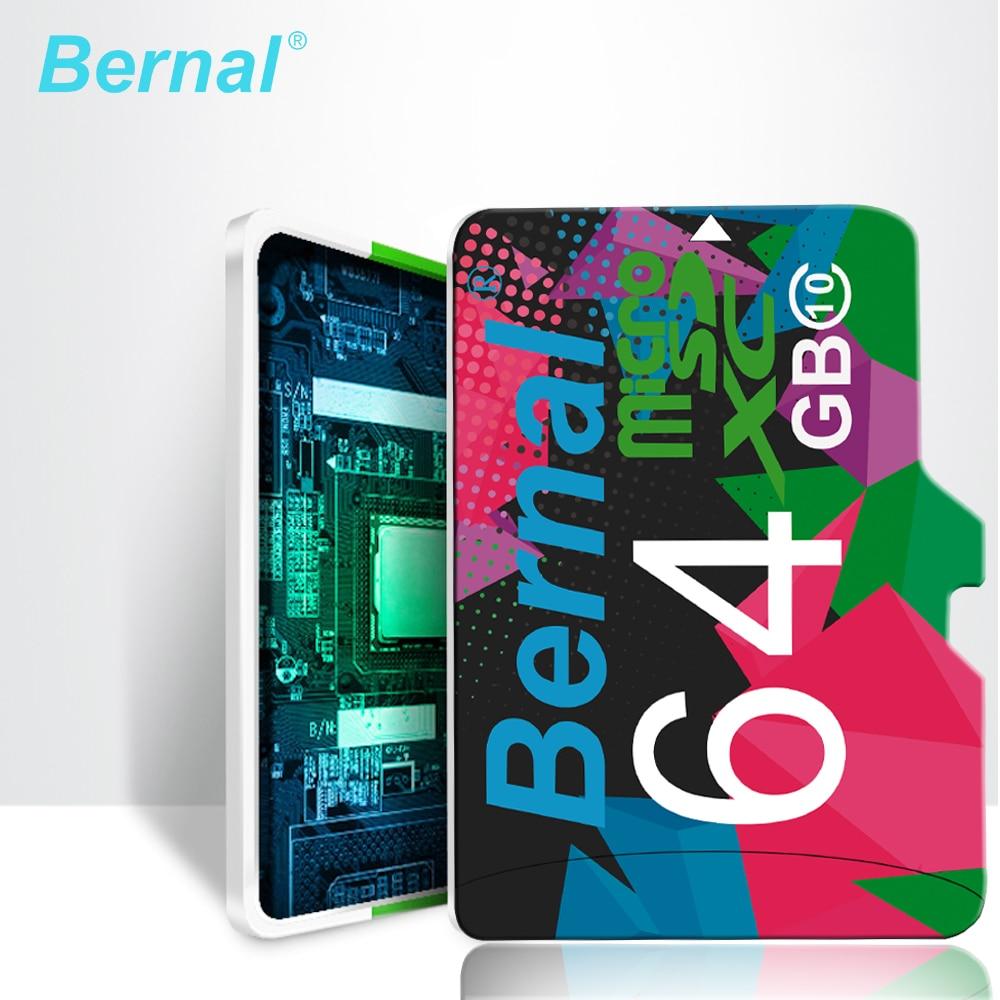 2018 Bernal micro sd card 64 gb 128G Class10 cartao de memoria micro sd 8 GB 16 GB microsd 32 GB mini scheda di Memoria sd card carta di TF