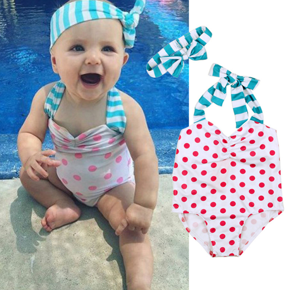Infant baby girl swimsuit-9983