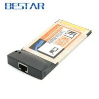 네트워크 이더넷 RJ45 Pcmcia 카드 버스 54 미리메터 노트북/노트북 확장 카드 어댑터 100 Mbps의 54 미리메터