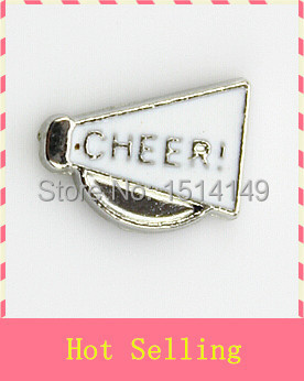 Hot selling cheer floating charms living glass floating memory charms