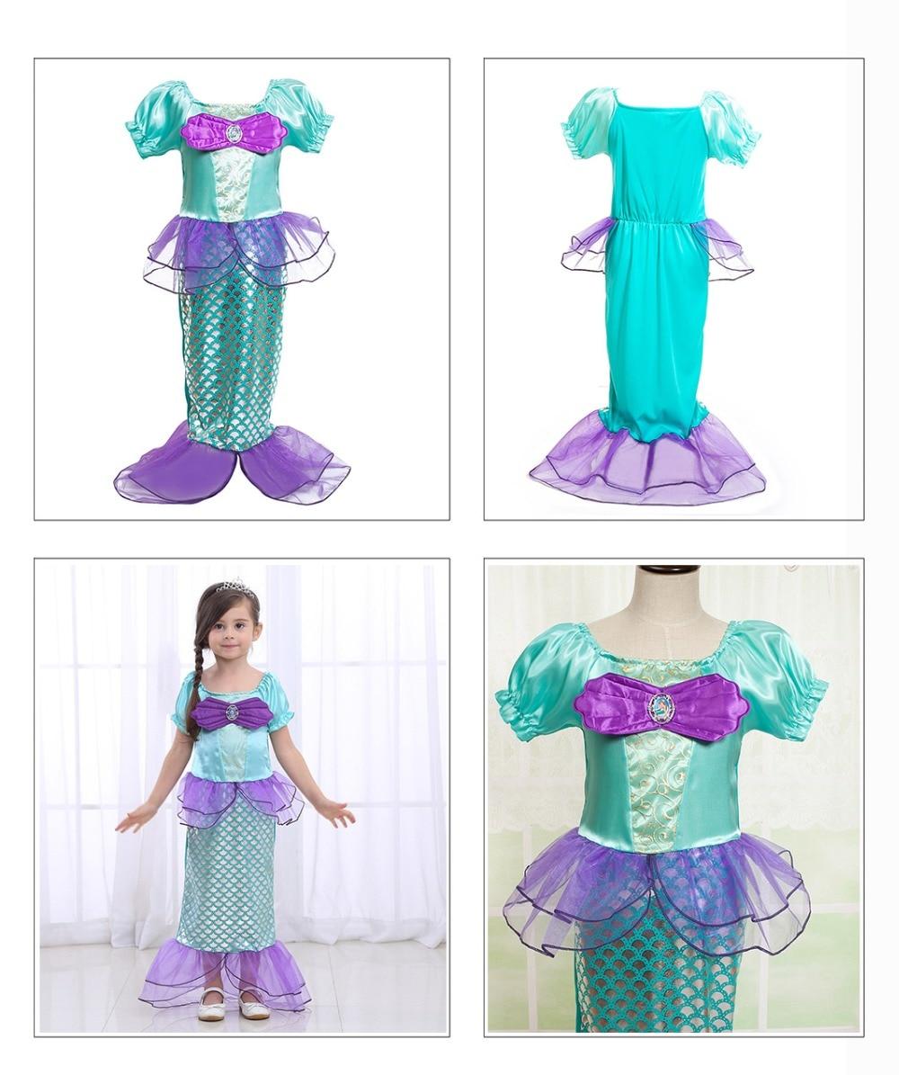 PaMaBa Fantasy Girls Unicorn Tutu Dress Princess Rapunzel Superhero Carnival Costumes Kid Vampirna Cosplay Party Wear Xmas Gift in Dresses from Mother Kids
