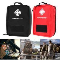 Nuevo Kit de Supervivencia de Emergencia Mini Familia botiquín de Primeros Auxilios Deporte Bolsa de Lona Al Aire Libre Del Coche de Primeros Auxilios kit de viaje Home Medical Kit