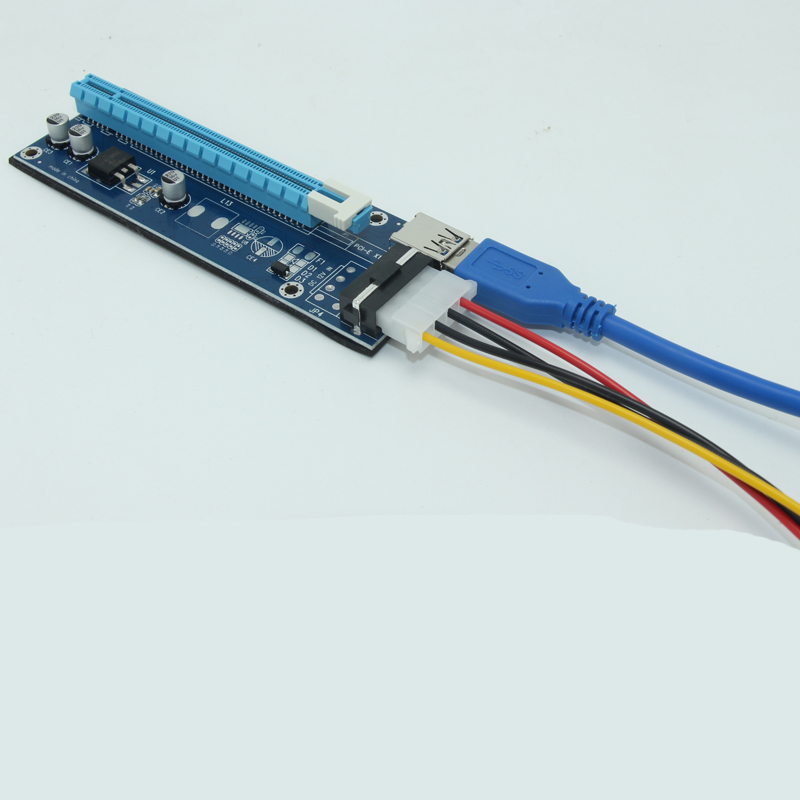 PCI-E PCI E Express 1X 16X գրաֆիկական քարտ Riser Card - Համակարգչային բաղադրիչներ - Լուսանկար 4