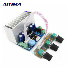 Tablero del amplificador de Ultra Clear 2.1 Amplificadores de Canal Junta TDA7377 Amplificador de Audio Tarjeta De Audio