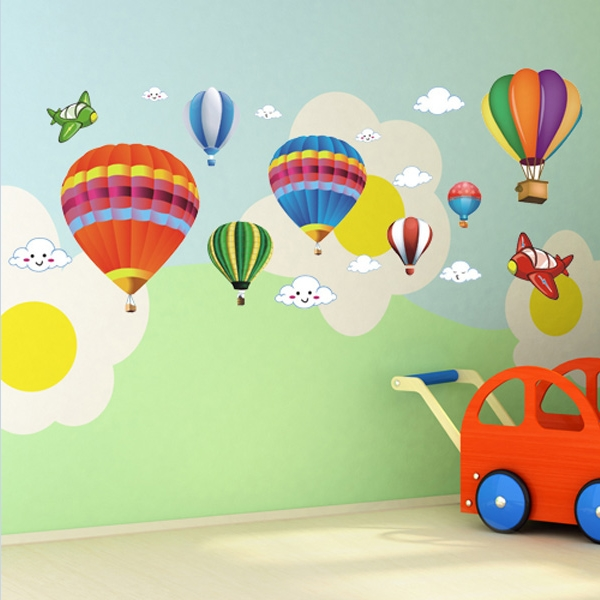 Children S Hot Air Balloon Decor