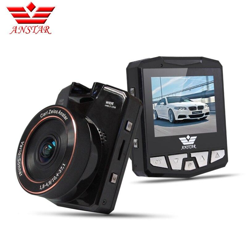 imágenes para Anstar k1s mini coche dvr 2.31 pulgadas full hd 1080 p dashcam Cámara Digital de Vídeo Registrator Rociada Leva de la Cámara Del Coche Grabadora de Vídeo DVR
