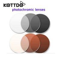 Miopia occhiali da sole anti-radiazioni grigio/marrone colore per occhiali da vista lenti fotocromatiche 2 pz/paia occhiali da vista ottica