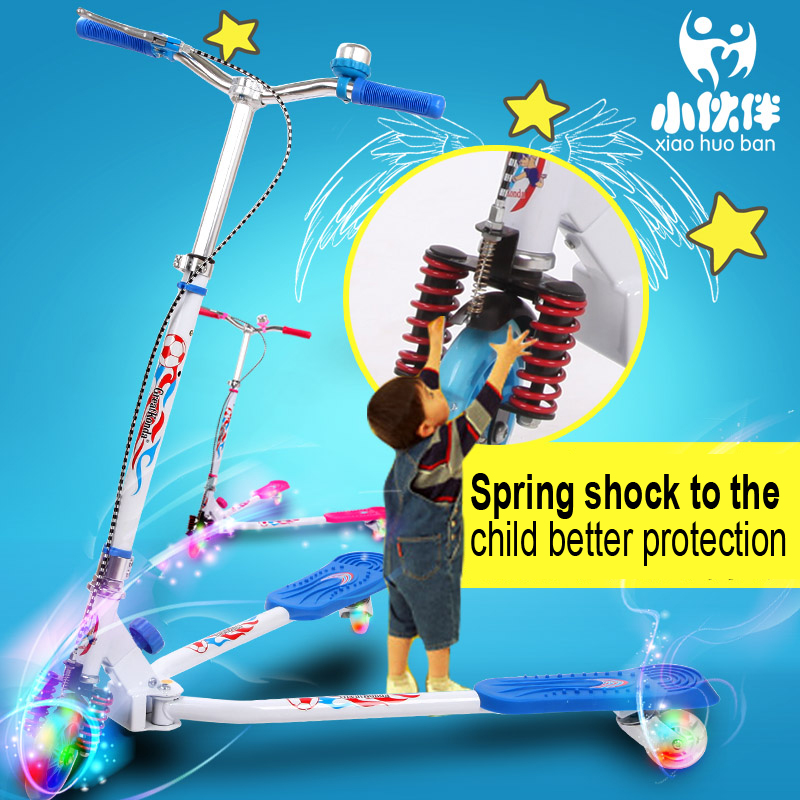 GF11 New Children's scooter car scooter three feet breaststroke scissors car tricycle scooter stroller