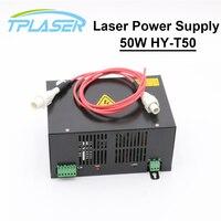50 Вт CO2 лазерной Питание для CO2 лазерной гравировки, резки HY T50 T/W серии