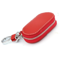 Head Layer Cowhide Car Key Cover Case For Mercedes W211 Volvo Xc70 Peugeot 406 Mitsubishi Lancer
