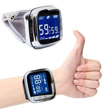New Laser Therapy Home Wrist Type Watch Low Frequency High Blood Pressure Fat Sugar Diabetes