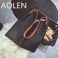 Aolen Handbags Women New Leather Woman Big Female Famous Brands Set Shoulder Luxury Designer Bags Genuine Handbag Clutch Bag